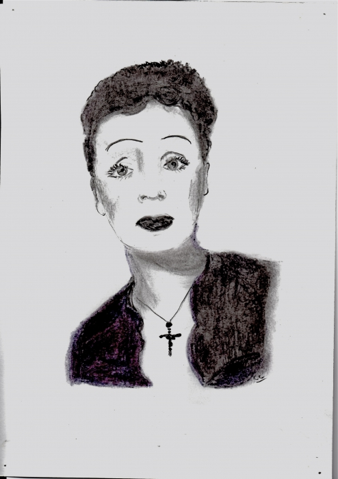 Edith Piaf por jesebelle